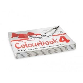 BLOCCO COLOURBOOK 4 20ff...