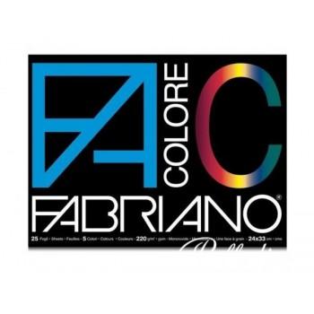 BLOCCO FABRIANO COLORE...