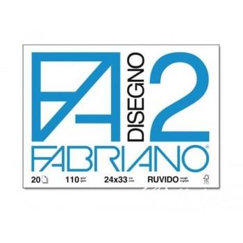 BLOCCO FABRIANO F2 24X33CM...