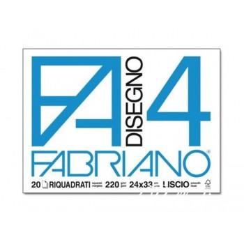 BLOCCO FABRIANO F4 24X33CM...
