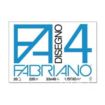 BLOCCO FABRIANO4 33X48CM...