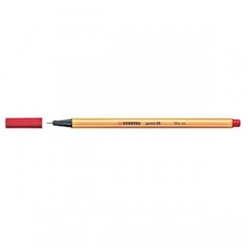 PENNA STABILO POINT 88 ROSSO