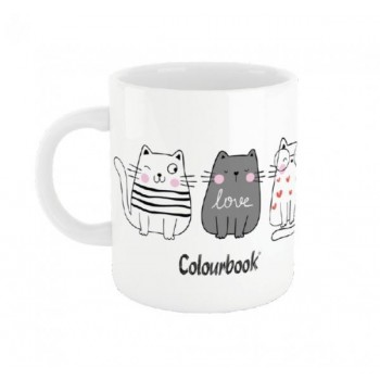 TAZZA COLOURBOOK CATS