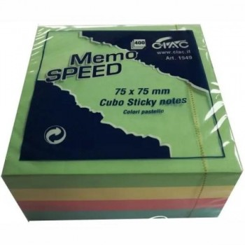 POST-IT MEMO SPEED 75x75mm...